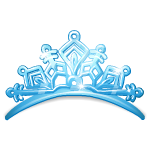 vector black and white library transparent tiara frozen #106839599
