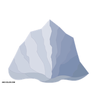 clip royalty free download Download free png photo. Iceberg clipart