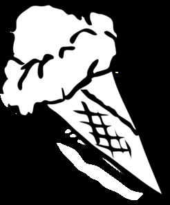 svg transparent download Ice Cream Outline Clip Art at Clker