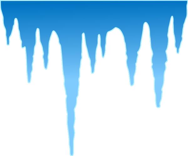 jpg transparent Icicle Clipart blue
