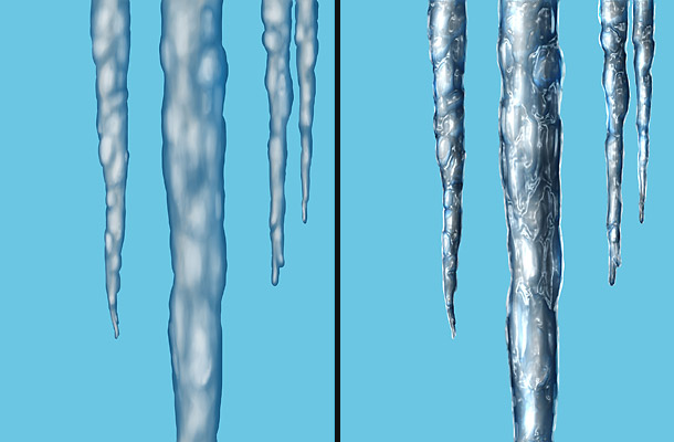 graphic transparent download Icicle drawing painting. Tutorial icicles henning ludvigsen