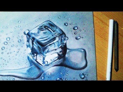 jpg free Icicle drawing realistic.  d crazy block