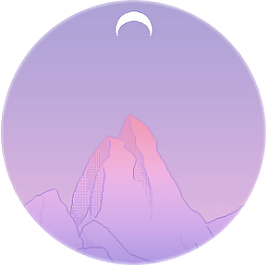 graphic black and white stock aestheticedit purple moon icon circle aesthetic