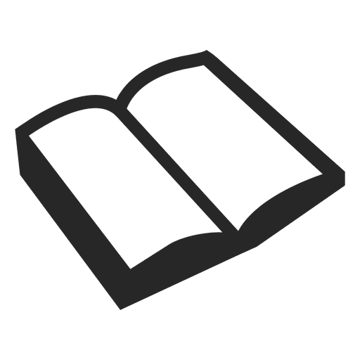 svg free library Open book icon