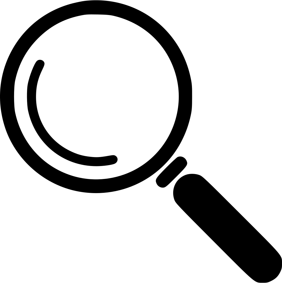 svg download Icon transparent magnifying glass. Computer icons clip art