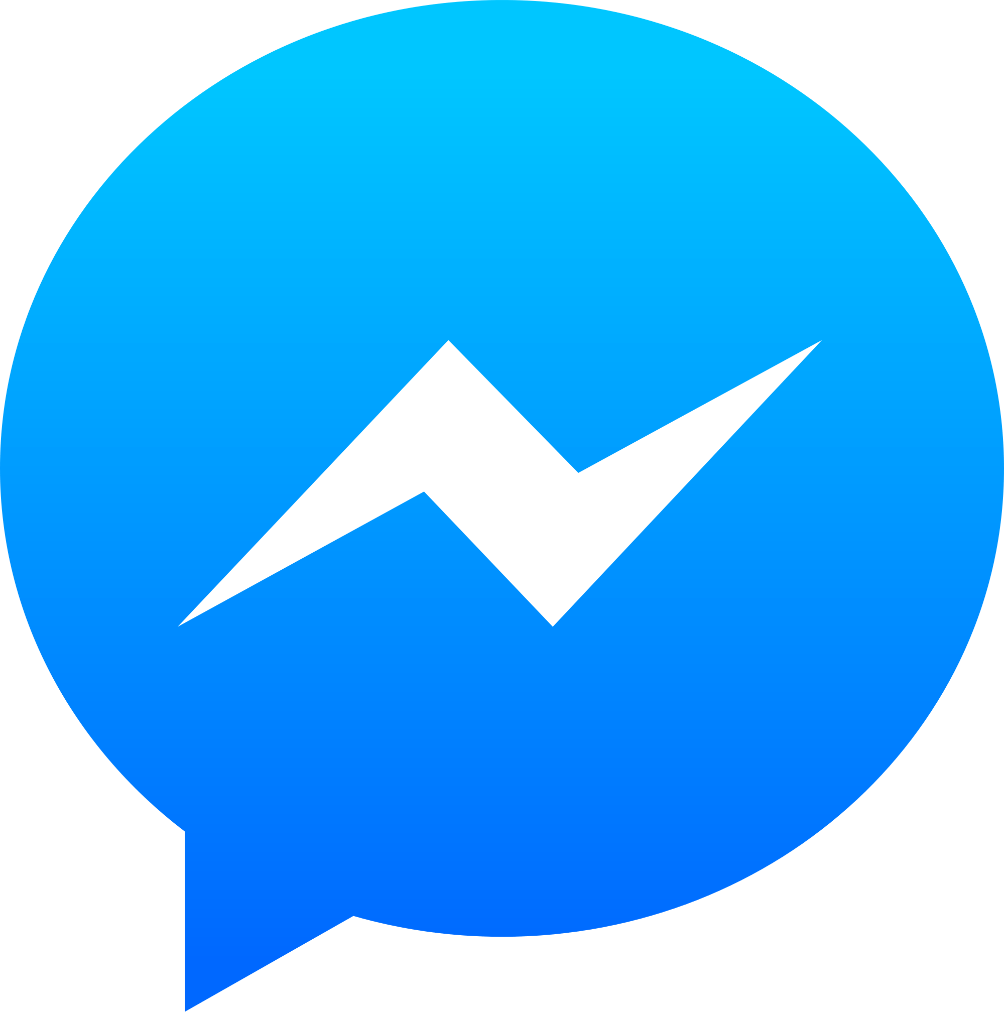 clip freeuse Messenger Logo transparent PNG