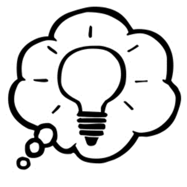 vector Free brainstorming cliparts download. Thought clipart thoughtful person