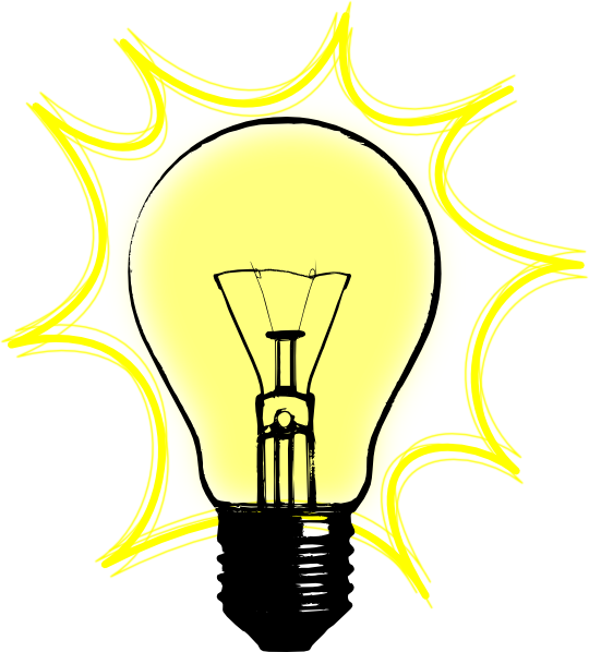 jpg royalty free library Light clipart. Best bulb clip art