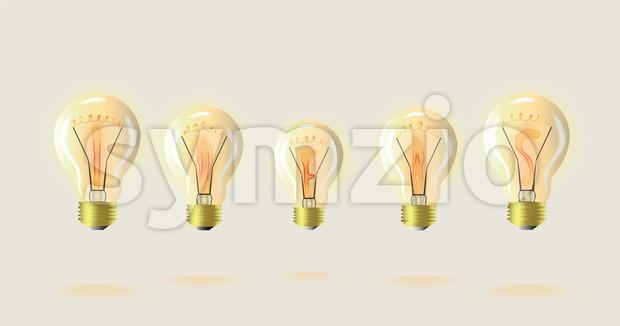 clip library Light bulb detailed illustration. Idea vector suggestion