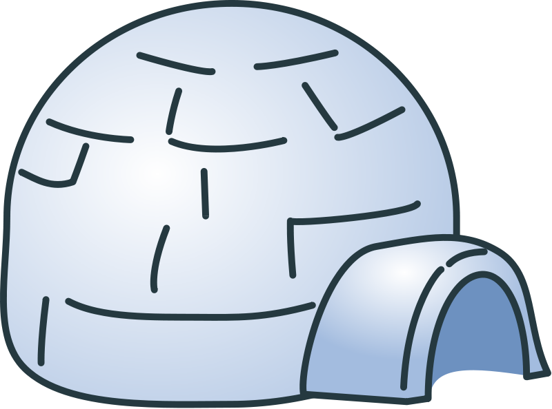 banner royalty free library Igloo clipart. Free cliparts download clip.