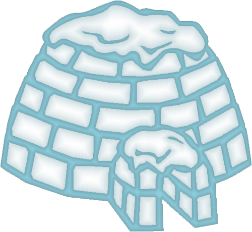 image library stock Igloo clipart. Png by clipartcotttage on.