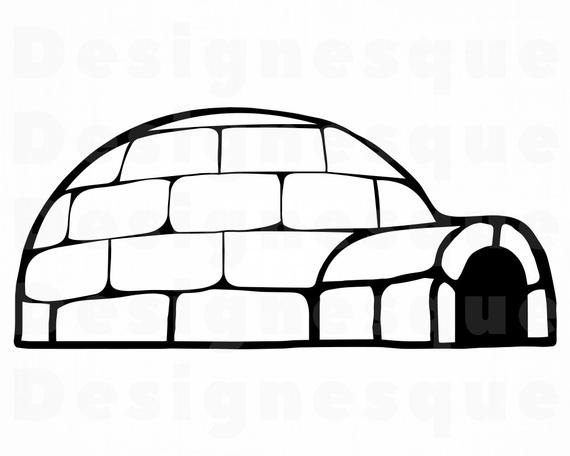 jpg library library Svg files for cricut. Igloo clipart.
