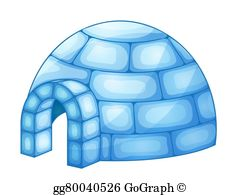 graphic stock Igloo clipart. Clip art royalty free.