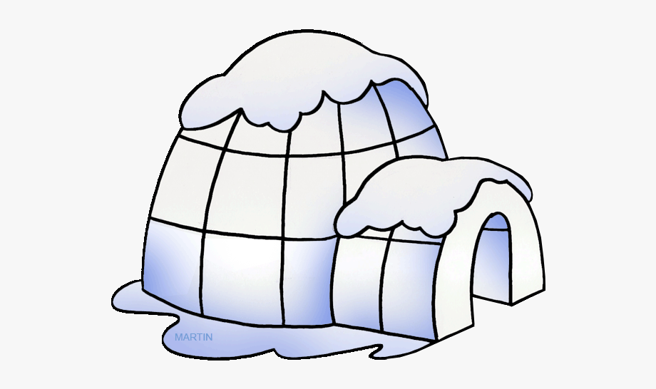 banner freeuse download Download for free png. Igloo clipart.