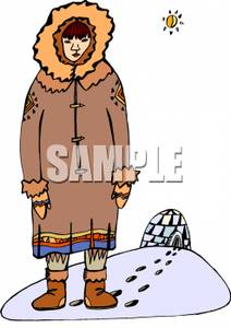 png freeuse download Igloo clipart man. Frames illustrations hd images