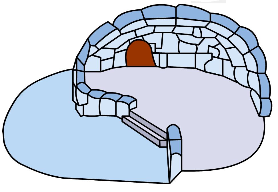 clip snowball clipart igloo #83549746