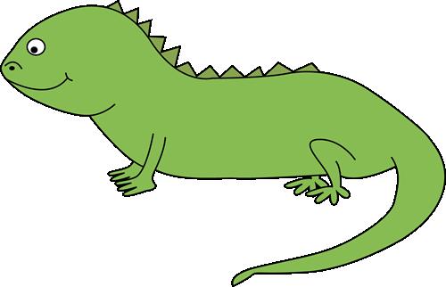 banner transparent Cute . Iguana clipart