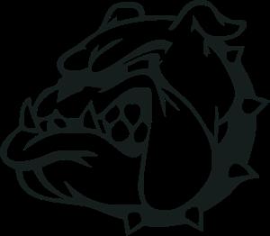 vector black and white Vector emblem animal. Logo vectors free download