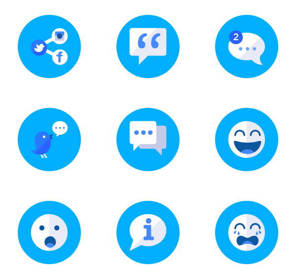 clip black and white library Essential circle icon family. Vector blue psd
