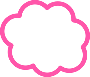 royalty free download Pink Cloud Clip Art at Clker