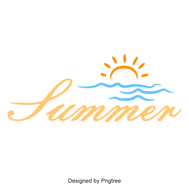 clip royalty free download Summer Label