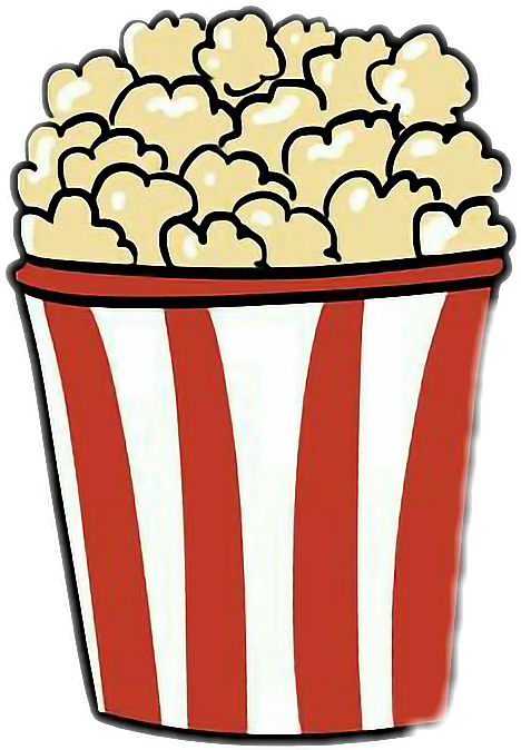 graphic free Drawing something popcorn. Collection of free download