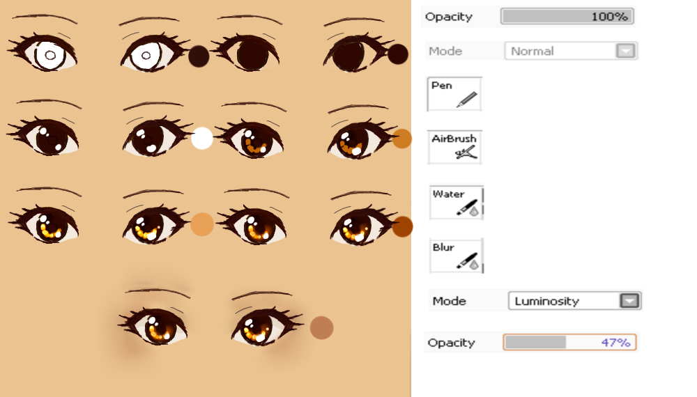 image royalty free download Nice eye tutorials which. Imgur drawing eyes