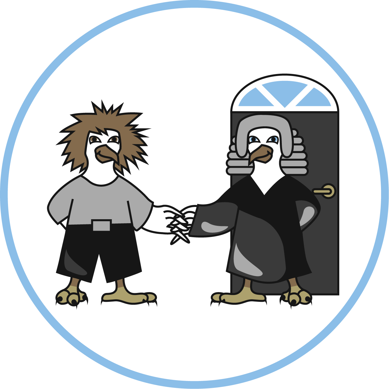 clip free stock The legal eagle neighbours. Supermarket clipart neighbourhood place