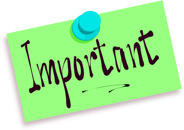 banner library stock Post It Clipart important
