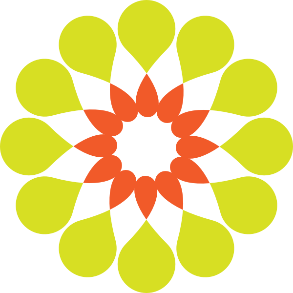 image library download Yellow Flower Clipart shape
