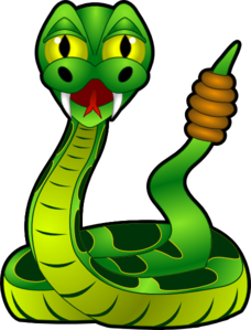 banner transparent stock Rattle Snake Clip Art at Clker