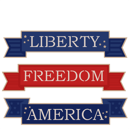 banner transparent library Independence clipart independence word