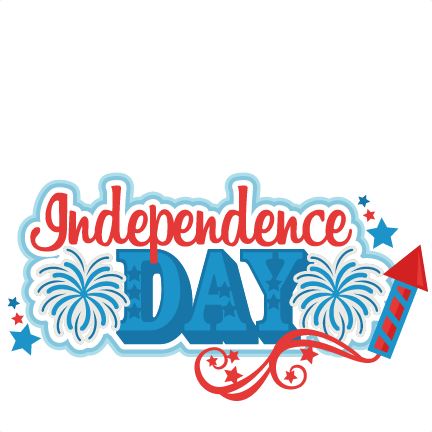 clip art Independence day title svg. One nation under god clipart