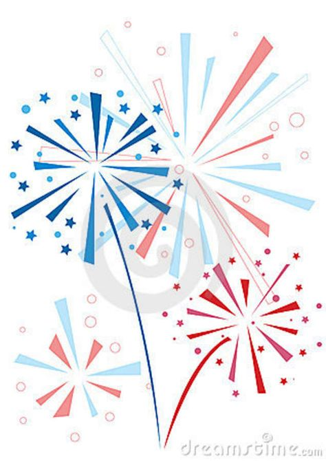 png black and white stock Independence Day Clip Art