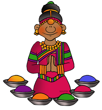 picture black and white India clipart. Free religion in clip.
