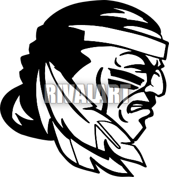 png royalty free library Indian clipart. To print and color.