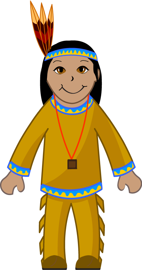 graphic freeuse library Clip art of an. India clipart tribal.