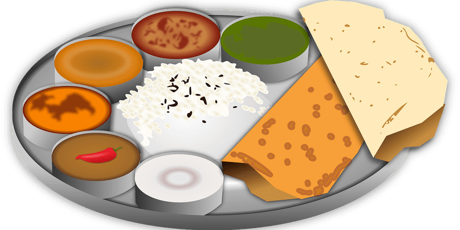 clipart library library indian food clipart #63280487