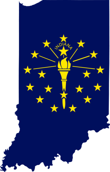 clip transparent download Px Flag Map Of Indiana