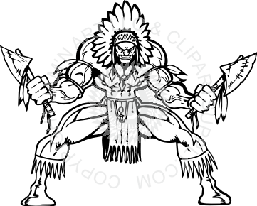 clip free Indians Clipart african warrior