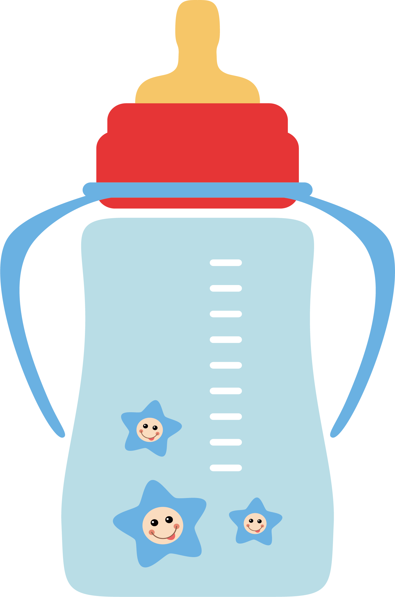 transparent stock Clip art png vector. Infant clipart baby milk bottle