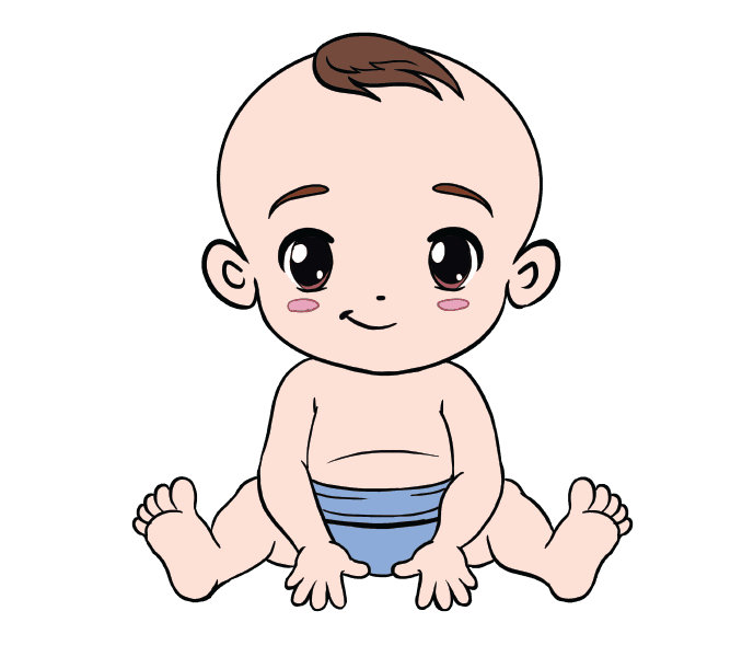 picture transparent download Baby Crawling Drawing at GetDrawings