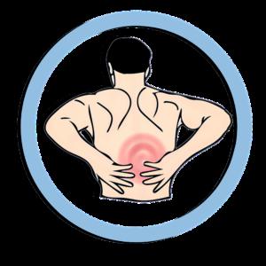 banner freeuse Back spasms causes symptoms. Injury clipart leg cramp