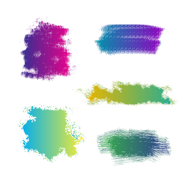 banner free Colorful Watercolor Brush Stroke Vector