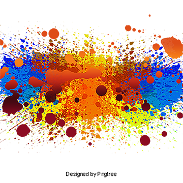 clip art transparent download Splashes creative splash png. Vector color painting