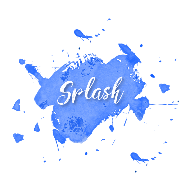 png library Watercolor Splash Splatter Vector