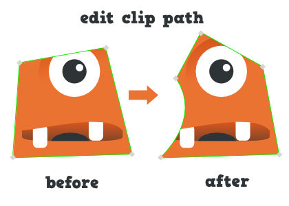 graphic transparent stock Clip path cliping. Inkscape faq how do