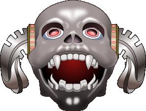 clip Inkscape Skull Corneum Clip Art at Clker