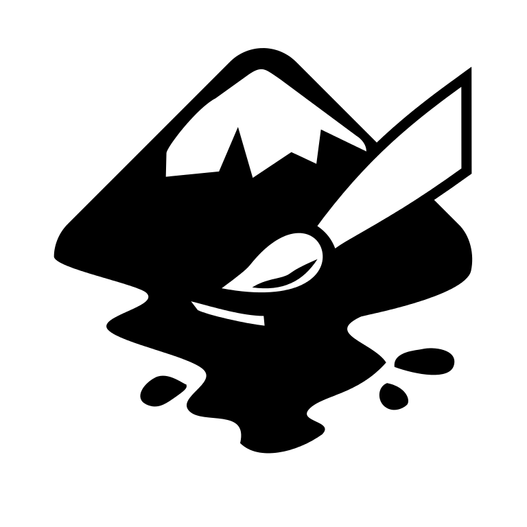 picture black and white inkscape clip png #98167714