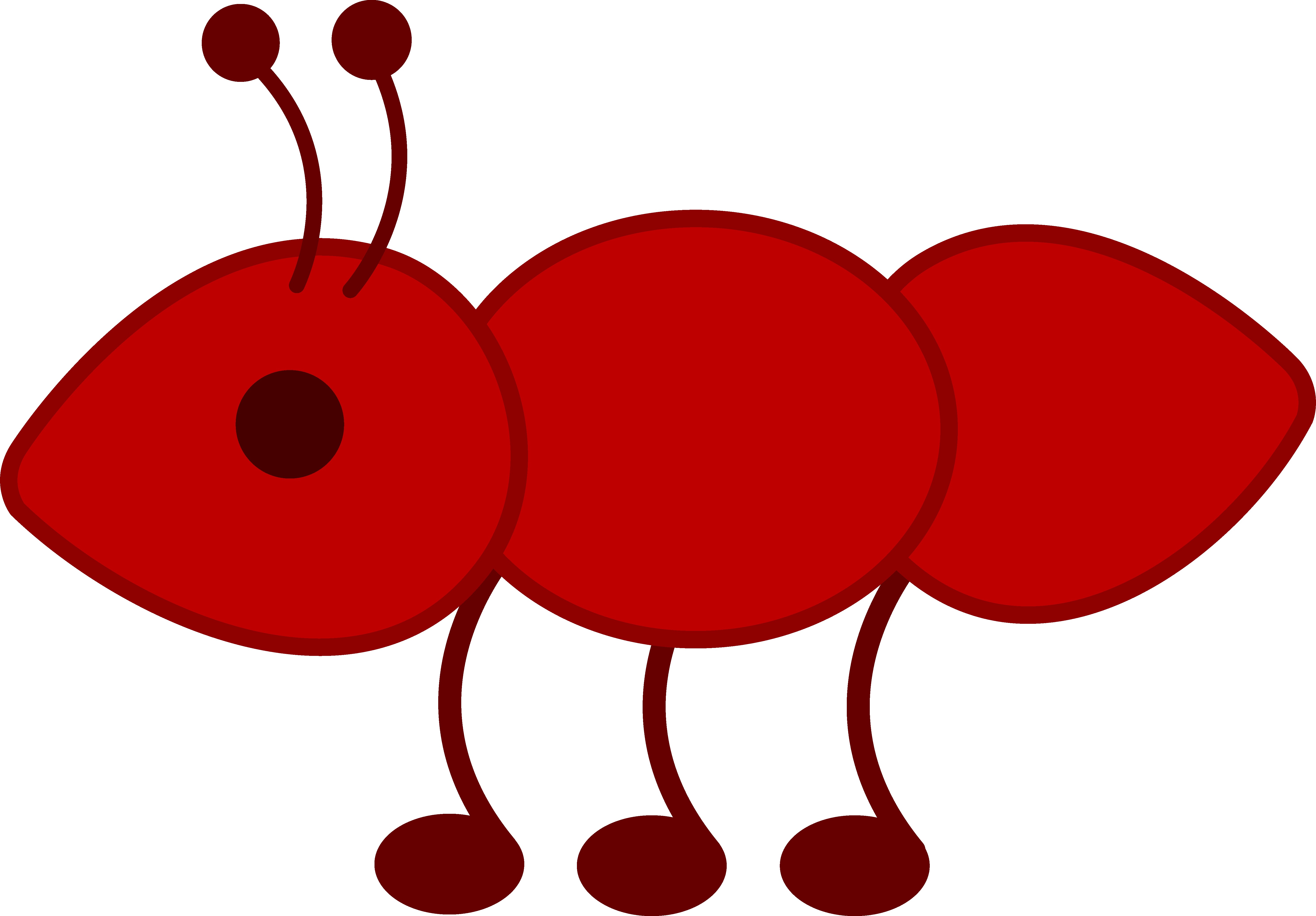 jpg library download Ants never sleep in their lifetime clipart. Little red ant free